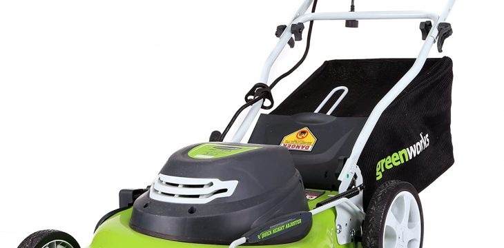 Top 6 corded electric lawn mower-2021